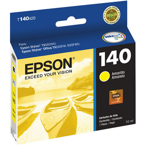 Cartridge-Tinta Epson 140 Amarillo pn.T140420-AL