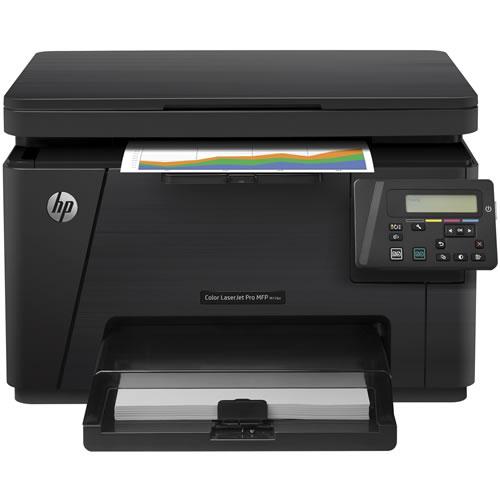 Impresora Multifuncional Laser M176N Color USB RED 16ppm Bandeja 150 Hojas pn.CF547A#AKV