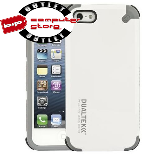 Outlet - Case DualTek Extreme Impact  Blanco, para  IPhone 4/4S pn02-001-01378