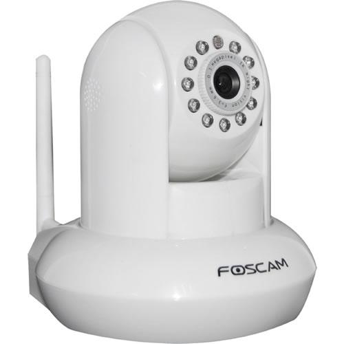 Camara IP Wireless PAN/Tilt IR-Cut Filter Night Vision, color blanco, pnFI8910W