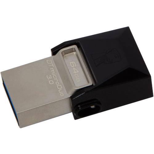 Pendrive 64GB USB 3.0 DT microDuo  pn:DTDUO3/64GB