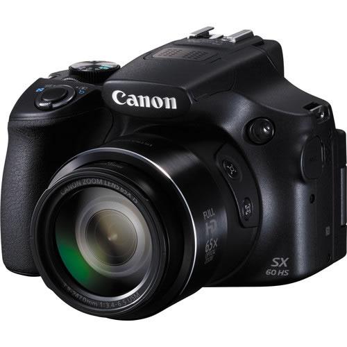 Camara PowerShot SX60 HS  + Bolso Zoompack 1000 PN:9543B001AA