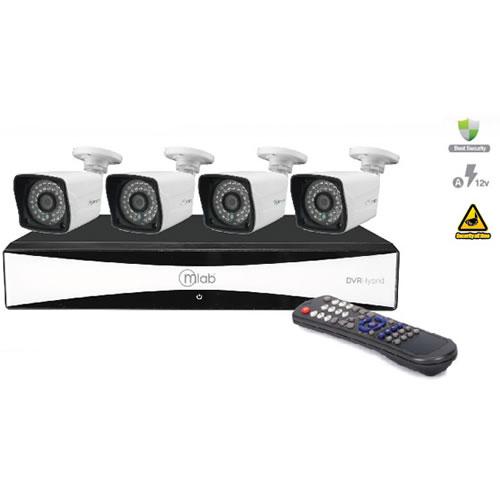 Kit DVR +  4 camaras KB  pn:6993