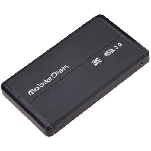 Cofre 2.5 SATA a USB 3.0 Negro PN:93149
