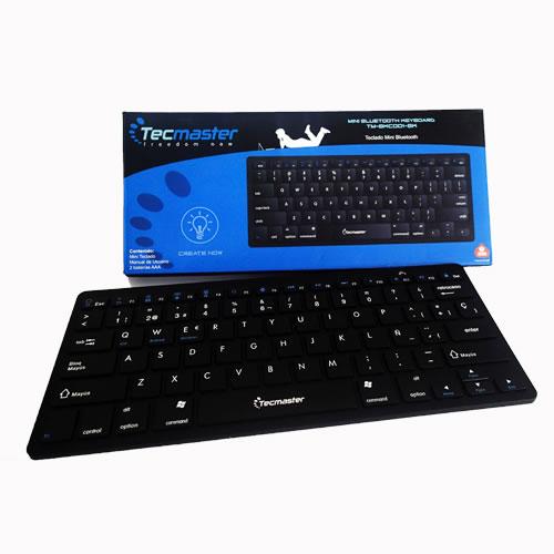 Teclado Bluetooth Negro TM-BKC001-BK