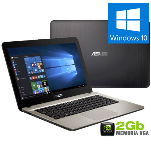 Notebook X441UR i7-7500U 8GB 1TB GF930MX 2GB 14