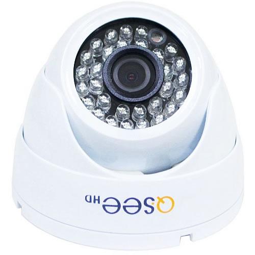 Camara de vigilancia 720P Hi Def  DOME WHITE pn: QTH7213D-N WH