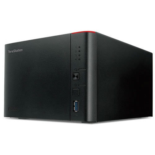 NAS 12TB TeraStation 1400 4-Bay  (4 x 3TB) RAID Network Attached Storage  pn:  TS1400D1204