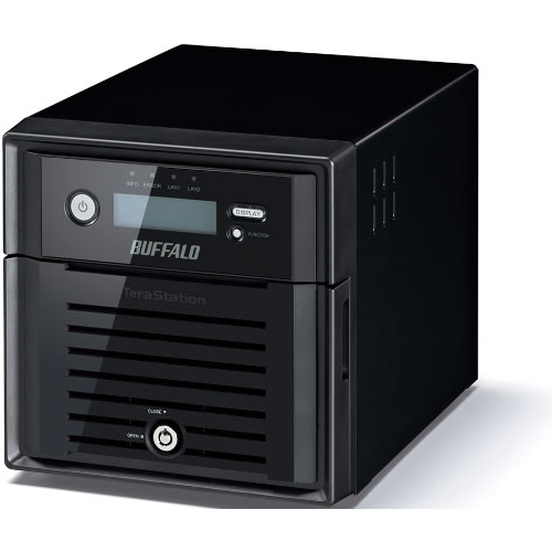 NAS 2TB TeraStation 5200DN 2-Bay  (2 x 1TB) RAID NAS & iSCSI Unified Storage with NAS Hard Drives  pn:  TS5200DN0202
