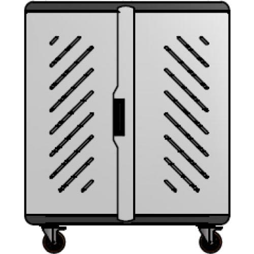 Carro porta notebooks Tipo B 42 unidades  97cm x 118cm x 58cm pn: B-42