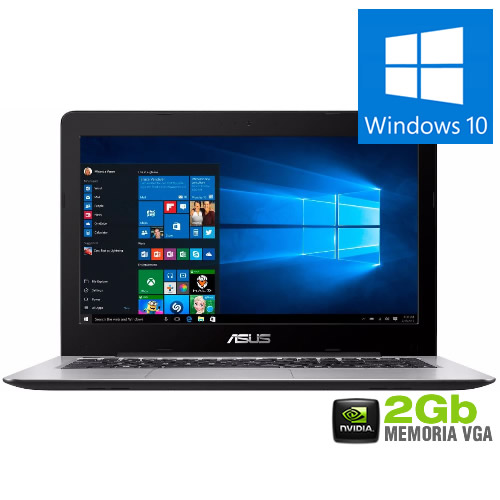Notebook X456UR i7-7500U 8GB 1TB GF930MX 2GB 14
