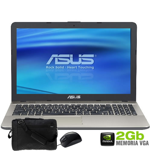 Notebook K541UJ i7-7500U 8GB 1TB NV920 2GB 15,6