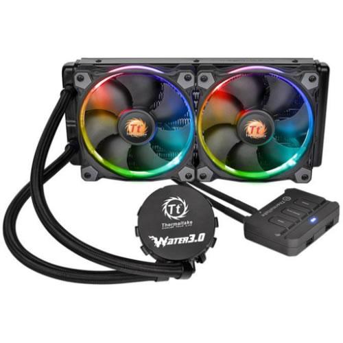 Ventilador Water 3.0 Riing RGB 240mm AIO  pn: CL-W107-PL12SW-A