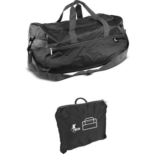 Bolso plegable/cierres resistentes /cap:10Kg / negro XTB-095B
