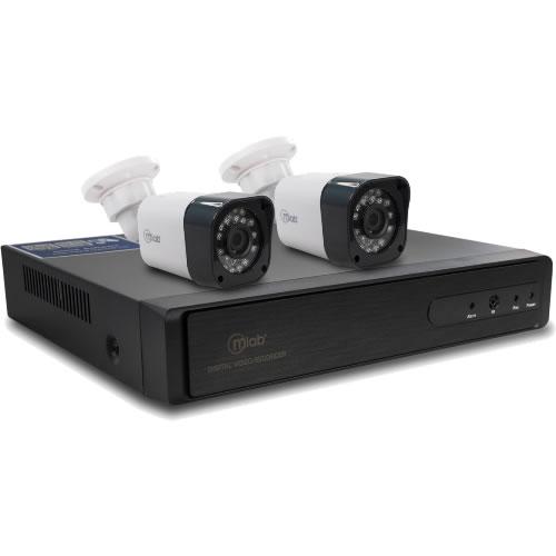 Kit AHD/DVR 4 canales 2 camaras 720P  pn:07919