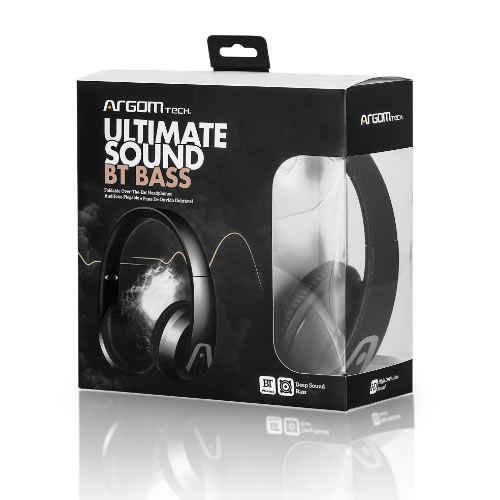 Audifono bluetooth Ultimate Sound Bass negro pn: ARG-HS-2610BK