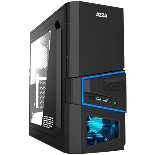 Gabinete ATX Mid tower Gaming Sirius 206 lado transparente pn: AZZA-SIRIUS-206