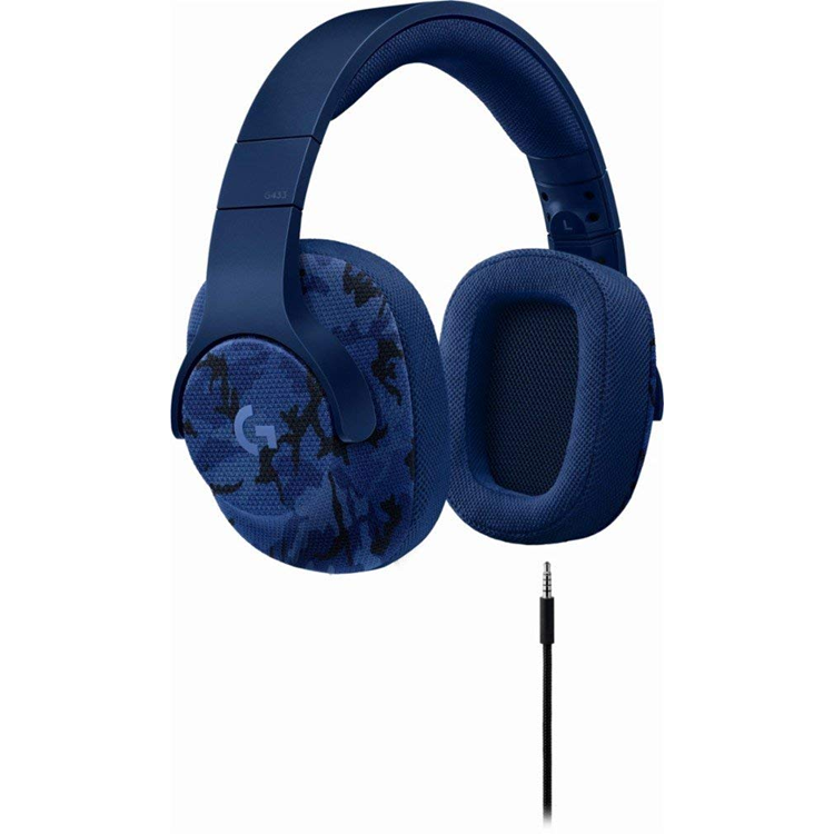 Audifono G433 Wired 7.1 Surround Gaming Headset Camuflaje pn.981-000682